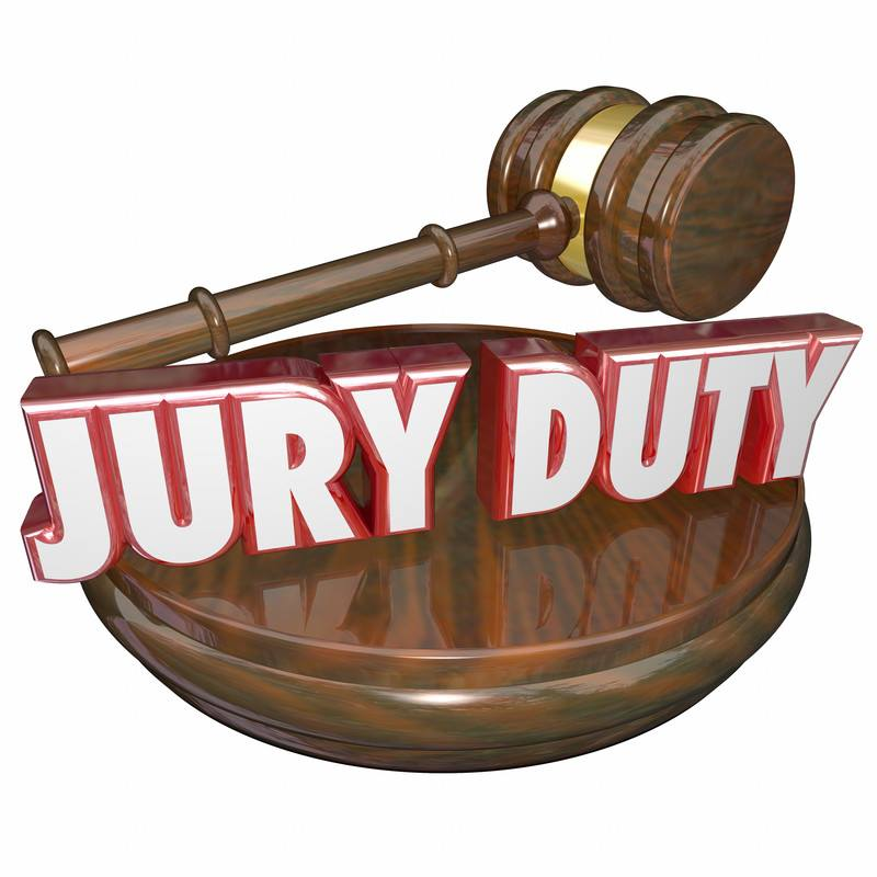 gavel jury duty