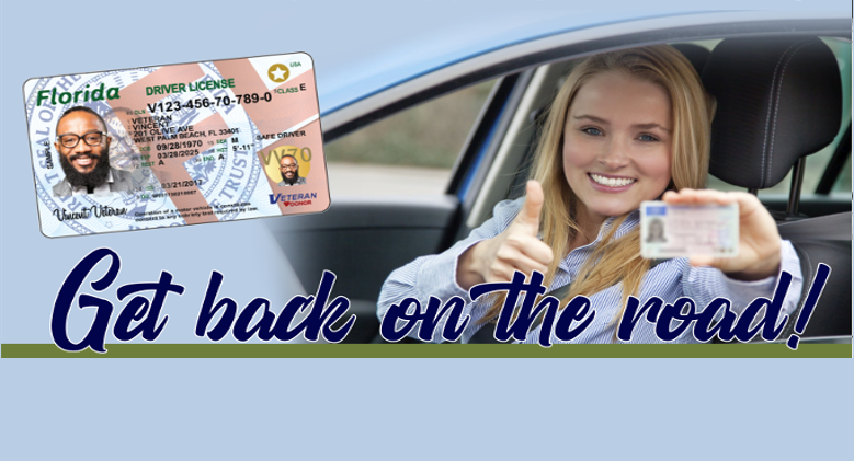 Drivers License Reinstatement link to get more information