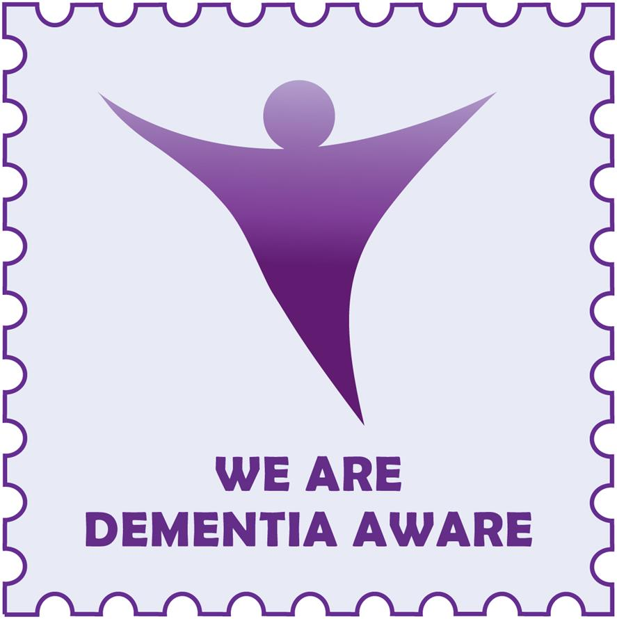 Dementia Friendly Awareness Label